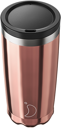 Coffee Cup 500ml Chrome Rose Gold