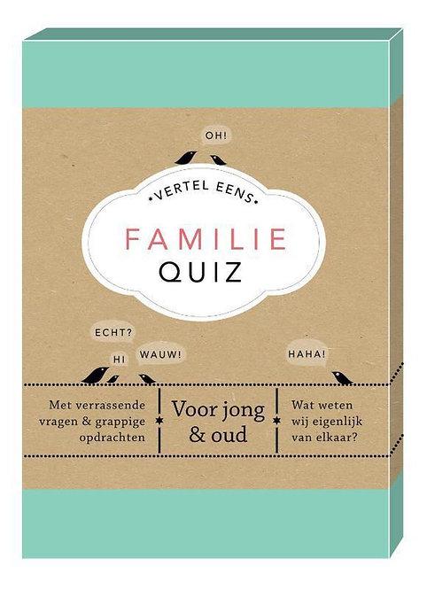 Familie Quiz - Elma van Vliet