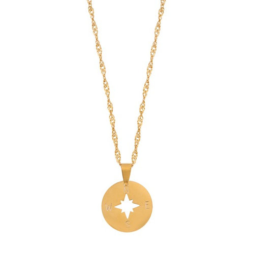 Necklace - Compass (gold)