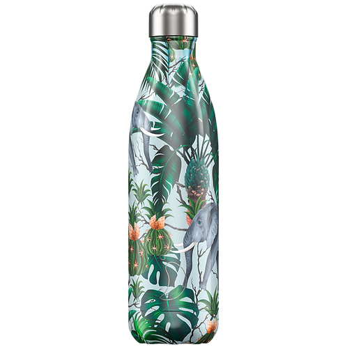 Chilly's Bottle 750ml Tropical Elephant