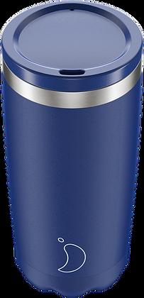 Coffee Cup 500ml Matte Blue