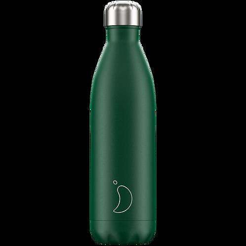 Chilly's Bottle 750ml Matte Green
