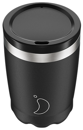 Coffee Cup 340ml Monochrome Black