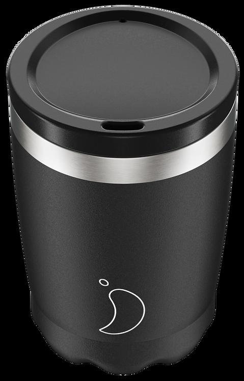 Coffee Cup 340ml Monochrome Black