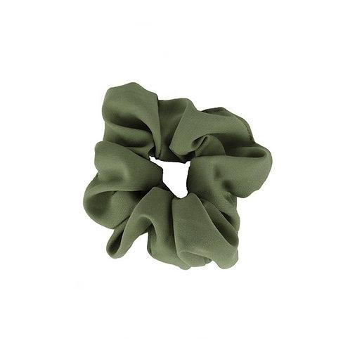 Scrunchie Plain Green
