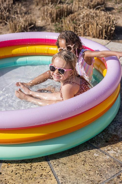 Regenboog zwembad - ⌀150cm