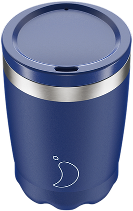 Coffee Cup 340ml Matte Blue