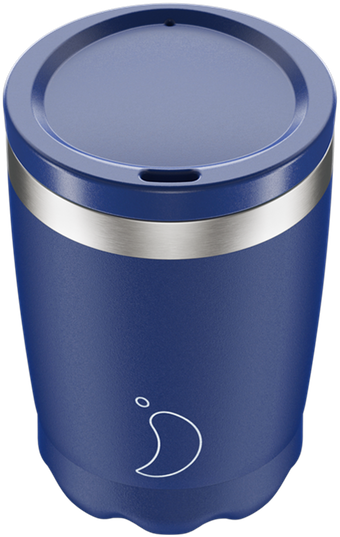 Coffee Cup 340ml Matte Blue