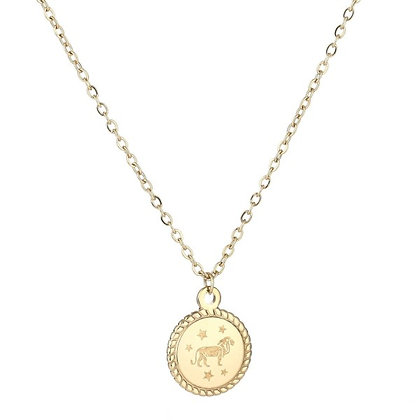 Necklace - Zodiac Sign Short (gold)*