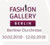 JUŻ WKRÓTCE - TARGI MODY BERLIN -  BERLINER DURCHREISE 10-12 FEB 2018