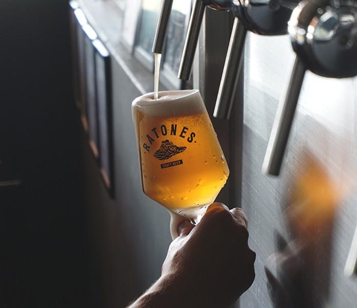 Cerveja artesanal direto da fonte!