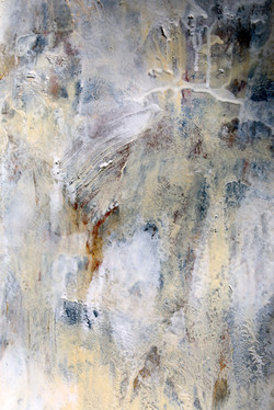 """""""Nights in White Satin"""" oil/mixed"""