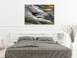 wallphoto - granite -bedroom