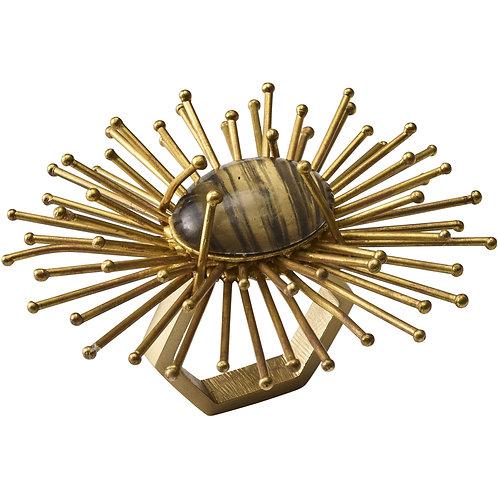 Napkin Ring, Gold set of 8