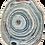 Thumbnail: Rug Germano-brasileiro « Agata Blue Lace» by David Elia (Sahrai)