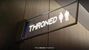 Throned   Rethinking public toilets