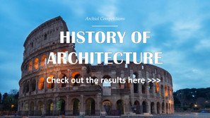 History of Architecture - Winners Announced!