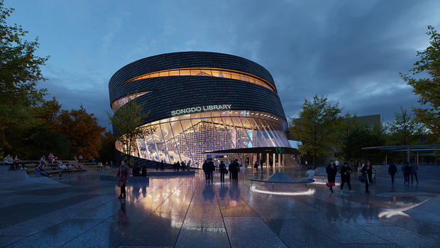Songdo International Library (Proposal | competition)| aoe