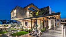 Cantilever House | Zero Energy Design Lab