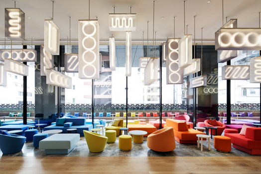 livingroom Photo credit: marriott international