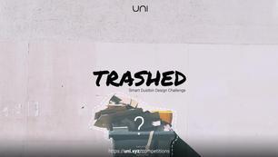 Trashed | Smart Trash Can Design Challenge