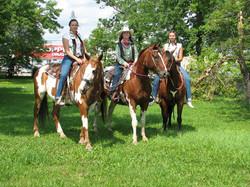 western horse lessons thunderbay