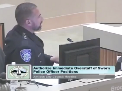 12/11/18: Immediate Overstaff of Sworn Antioch Police Officer Positions/Lamar Thorpe