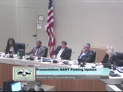 Bart Presentation: Parking Update