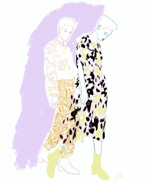 Fashion Illustration - Stine Goya