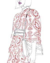Fashion Illustration - Alexander Mcqueen