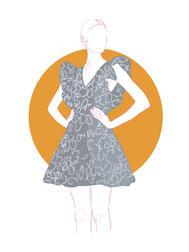Fashion Illustration - La DoubleJ