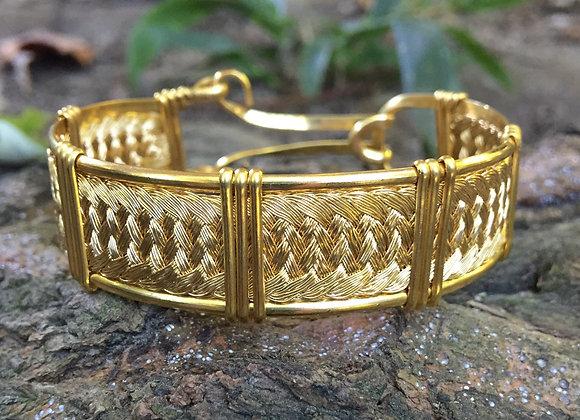 Golden Strands Bracelet