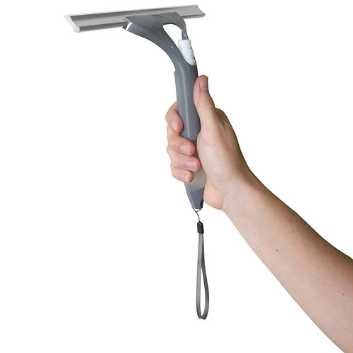 Squeegee with Built in Pump Spray Bottle