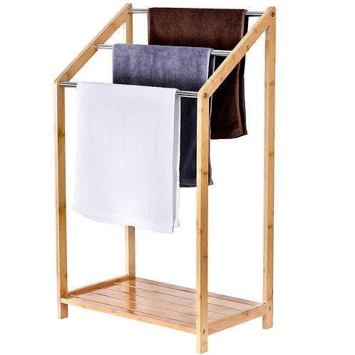 Bamboo Towel Rack - 3 Tier