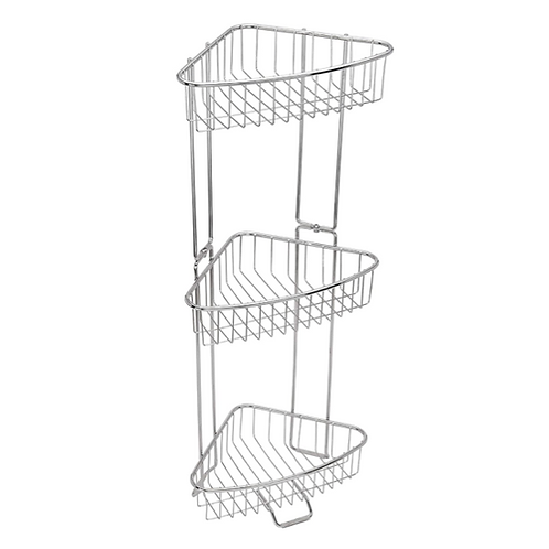 Stainless Steel Floor Shower Caddy