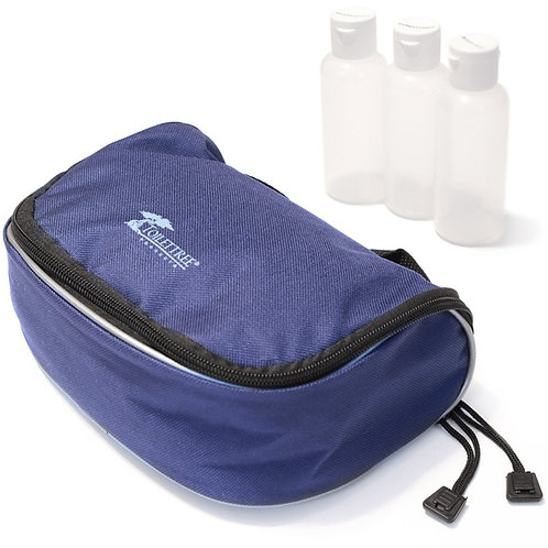 Toiletry Bag with TSA-Approved Travel Bottles