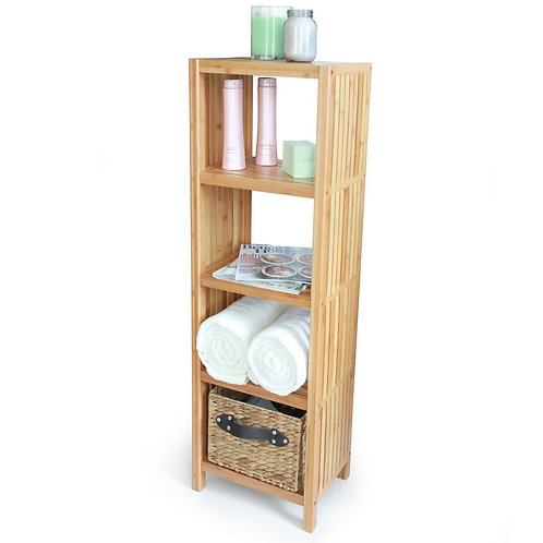 Bamboo Freestanding Organizing Shelf