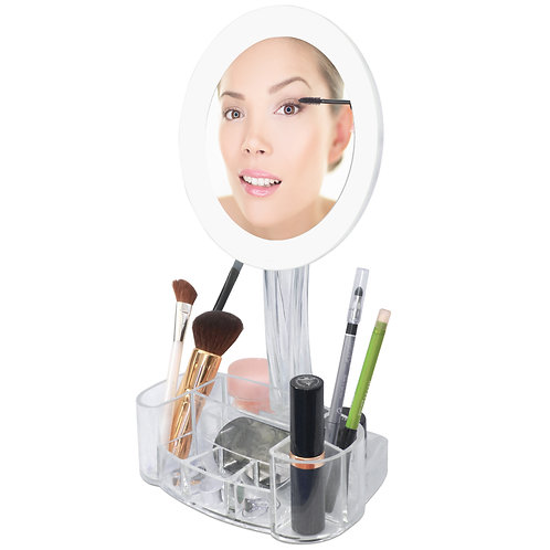 LED 7x Magnified Makeup Mirror