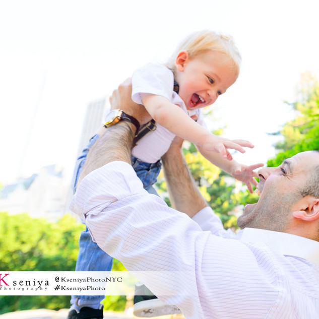 Dad an a son Photo Gift Session