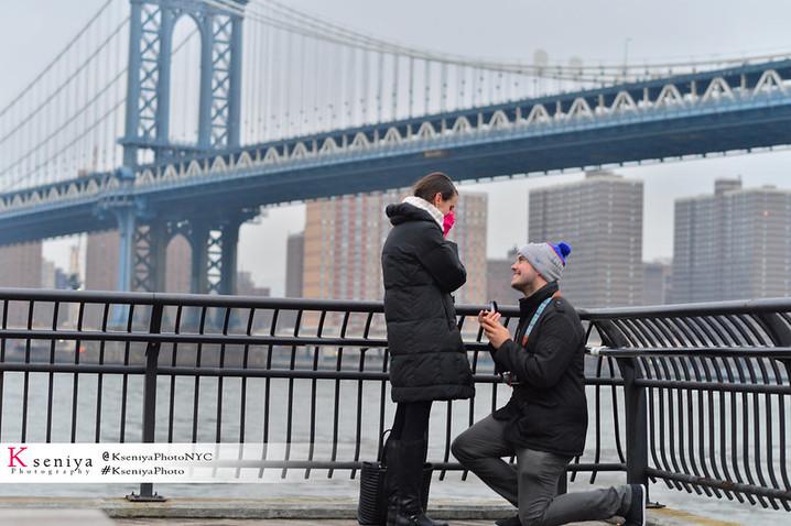 Brooklyn Bridge Park Secret Proposal