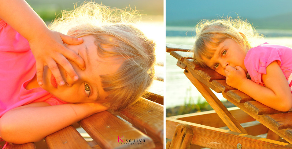 Artistic kids photographer
