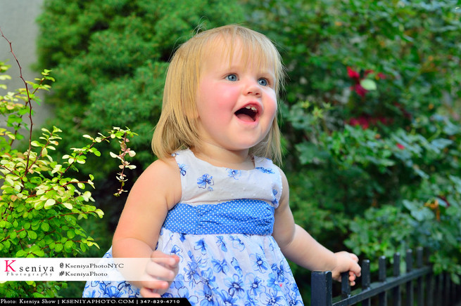 Baby Girl outdoors photoset
