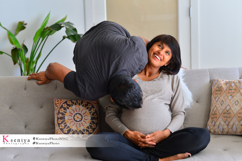 Maternity Home Photo-session