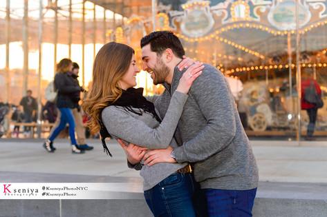 Carousel Surprise Proposal