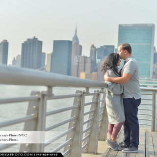 Surprise Proposals with Manhattan view