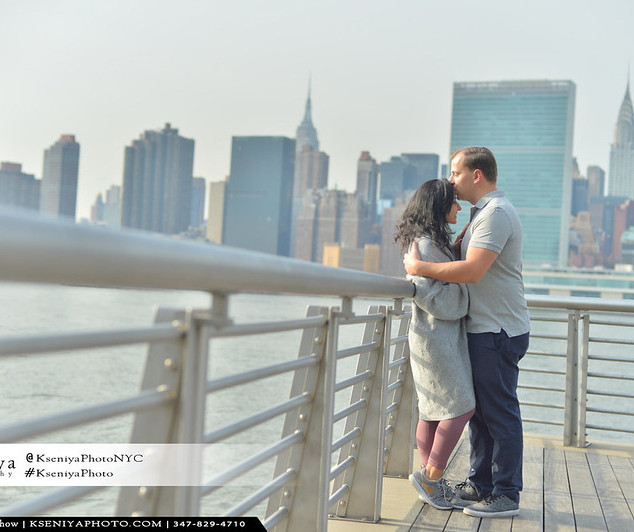 Surprise Proposals with Manhattan view