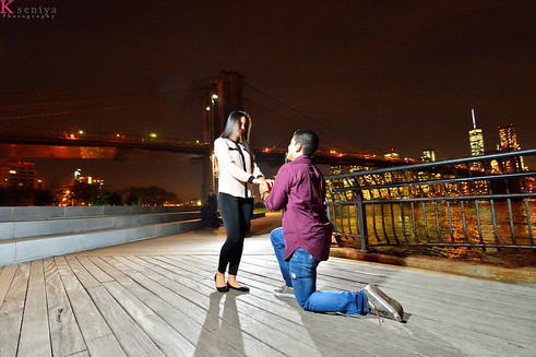How to Propose in NYC after Dusk