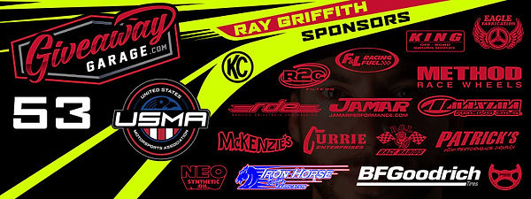 Racepro Tech Driver Ray Griffith #53 Off Road Racing