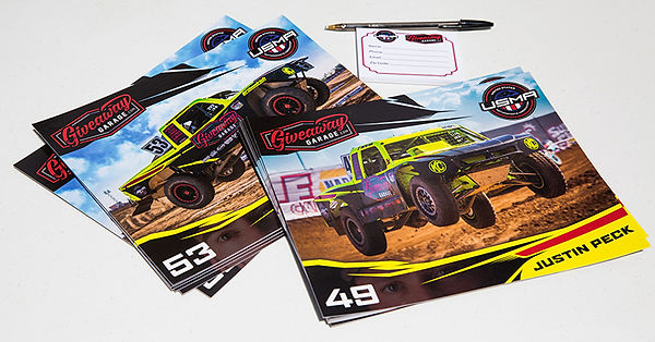 Racepro Tech Driver Justin Peck #49 Ray Griffith #53 Lucas Oil Off Road Racing Series