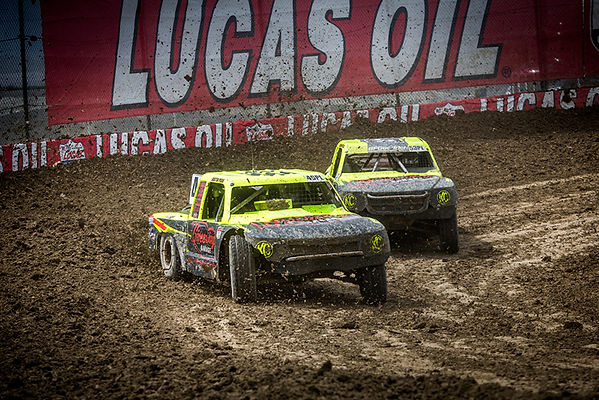 Racepro Tech Driver Justin Peck #49 Ray Griffith #53 Lucas Oil Off Road Racing